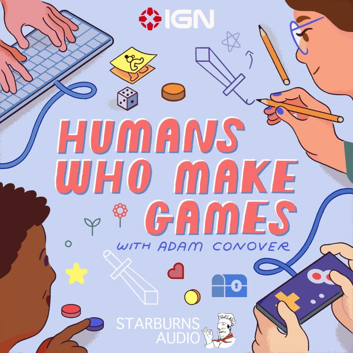 Humans Who Make Games podcast artwork